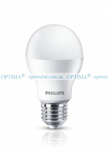 Лампа LED Bulb 9W 4000K E27 Philips