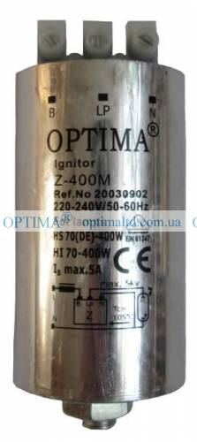 ИЗУ 400 ING VS Optima